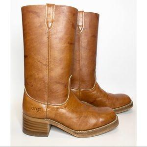 Vintage Men's  Acme Dingo Leather Campus Boots 8.5